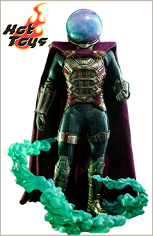 Figurine Spider-Man Far From Home Movie Masterpiece Mysterio 30cm