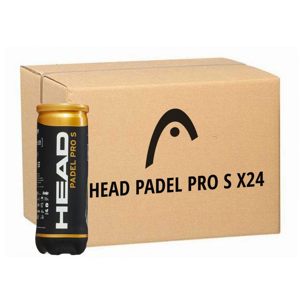 Balles de padel HEAD PADEL PRO S - carton de 24 boîtes