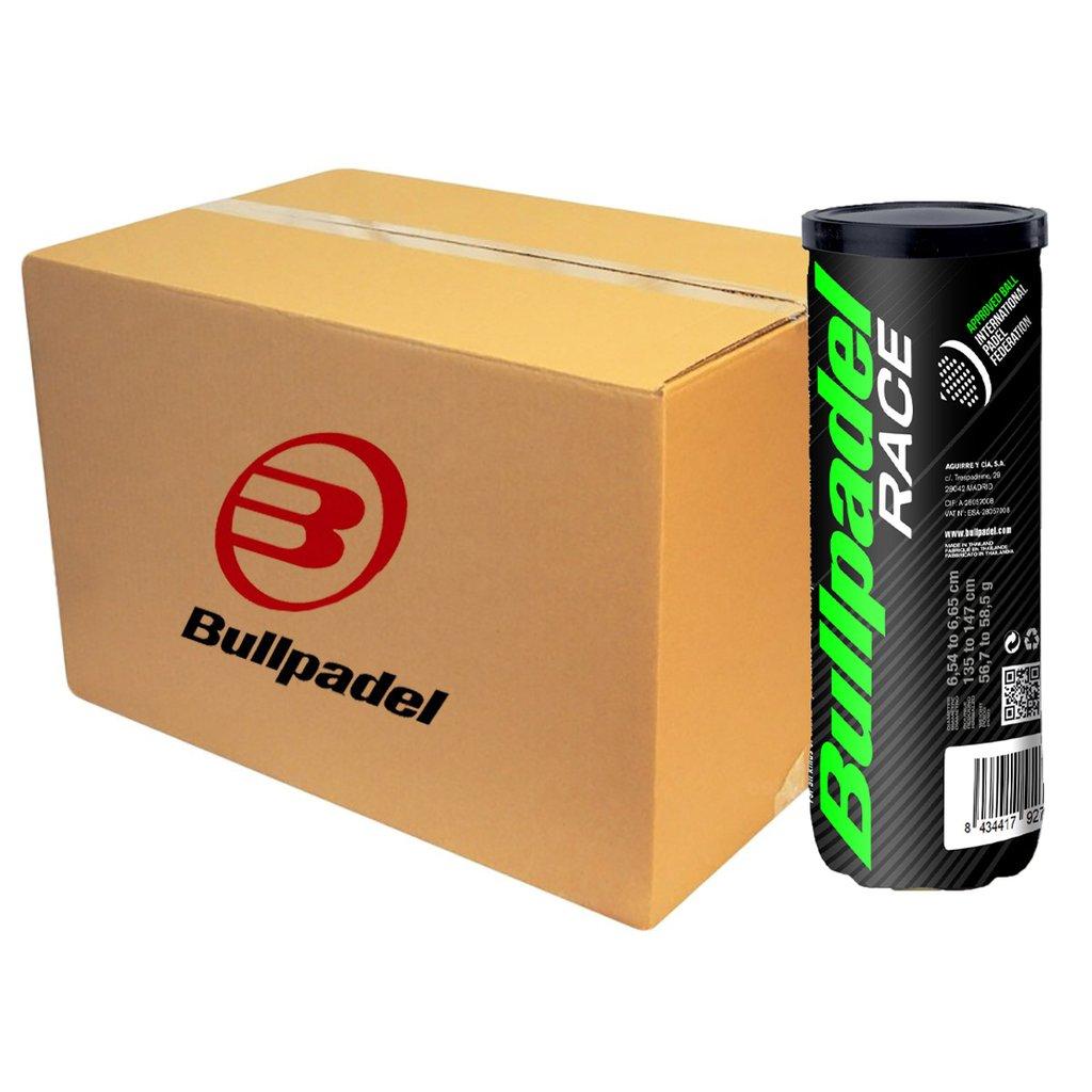 Balles de padel BULLPADEL RACE - carton de 24 boîtes