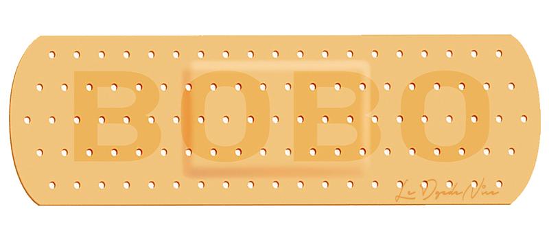 Sticker pour auto, pansement pour BOBO Dim: 15 cm x 7 cm