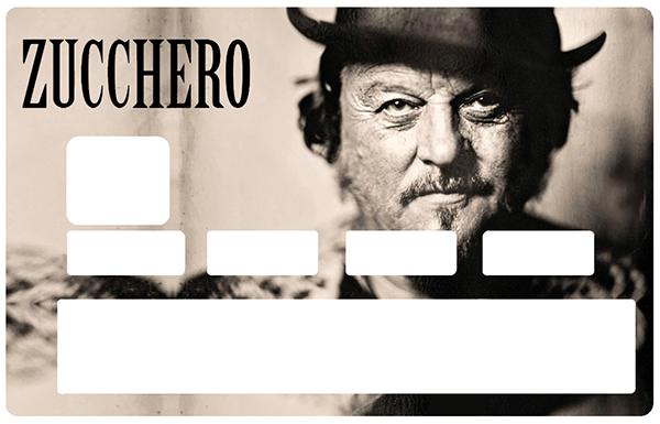 Sticker pour carte bancaire, Tribute to ZUCCHERO, limited edition 100 ex.