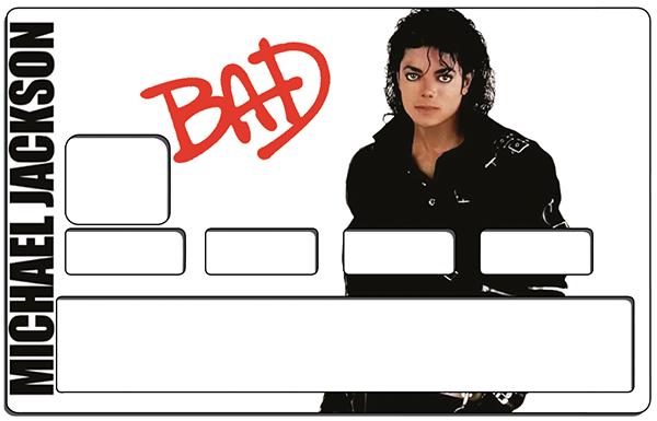 Sticker pour carte bancaire, Tribute to Michael Jackson