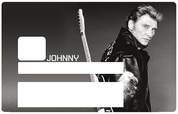 Johnny Hallyday N&B