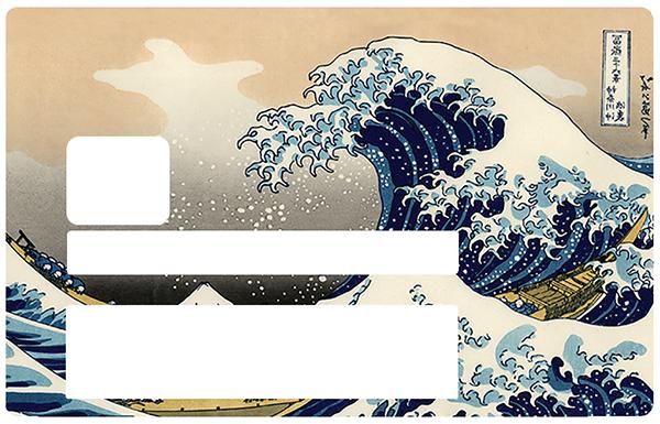 La vague de Kanagawa de Hokusai