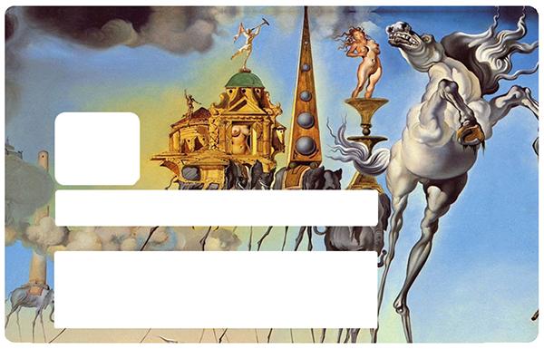 Dali, Sticker pour carte bancaire type ELECTRON