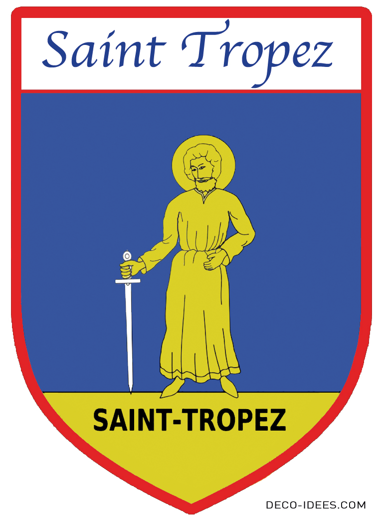 Sticker, Blason de SAINT TROPEZ