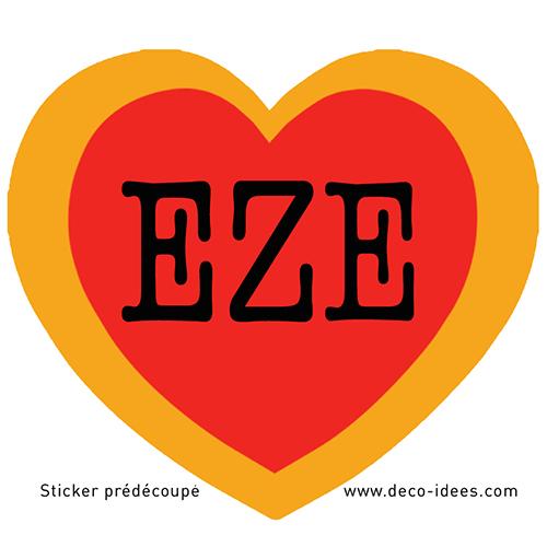 Sticker Le Coeur de EZE