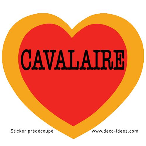 Sticker Le Coeur de CAVALAIRE
