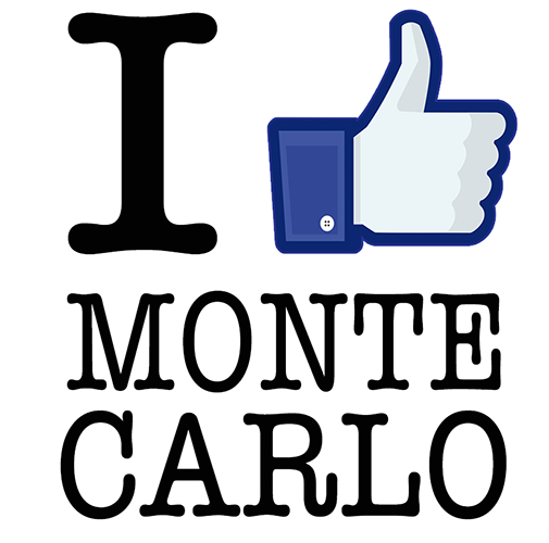 Sticker I LIKE MONTE CARLO