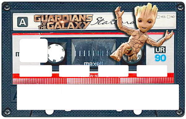 Sticker pour carte bancaire, Tribute to bébé GROOT