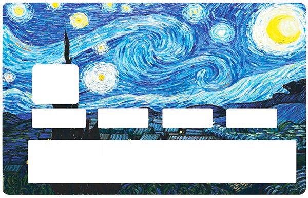 Sticker pour carte bancaire, Tribute to Van Gogh