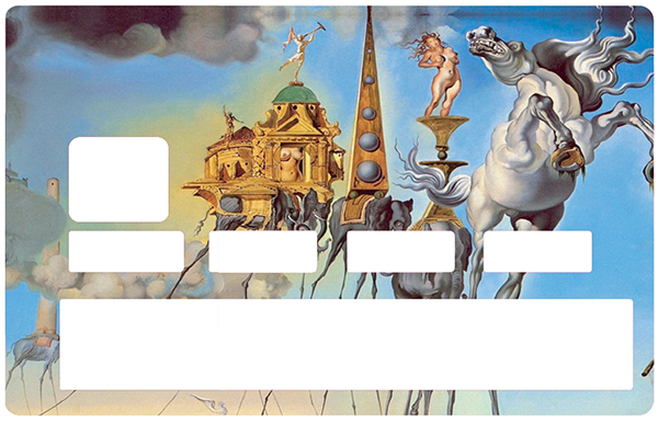 Sticker pour carte bancaire, Tribute to DALI