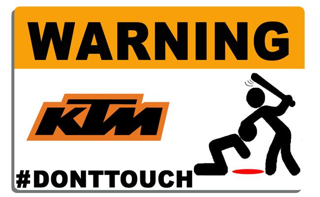 KTM-Sticker-TOUCHE-PAS-DONT-TOUCH-thelittlesticker