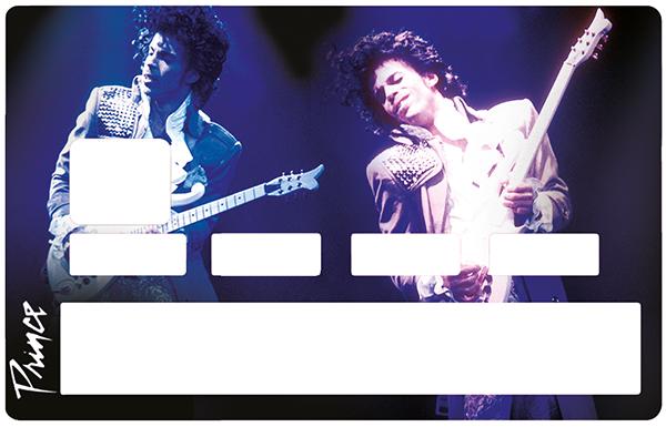 Sticker pour carte bancaire, Tribute to Prince