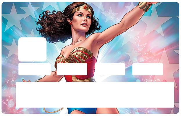 Sticker pour carte bancaire, Tribute to Wonder Woman NTM