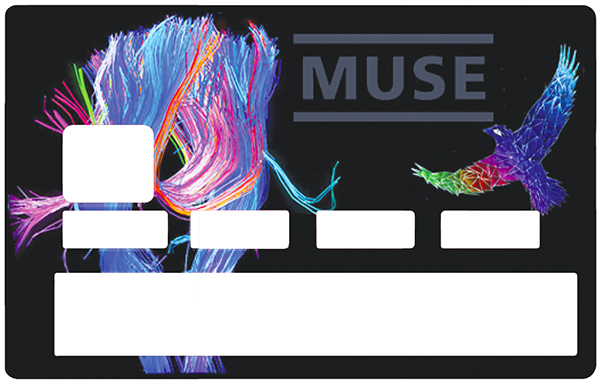 Sticker pour carte bancaire, Tribute to Muse