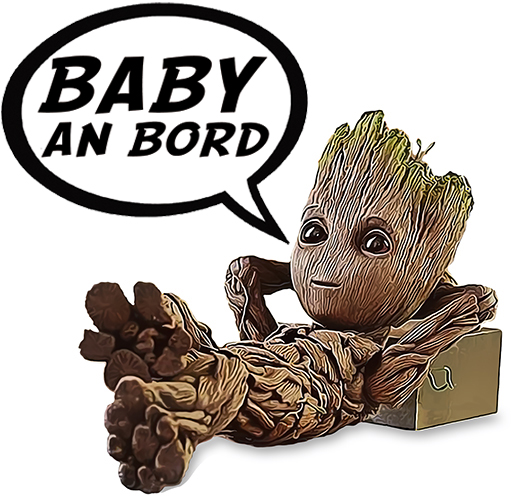 DE-sticker-BABY-AN-BORD-baby-groot-the-little-boutique