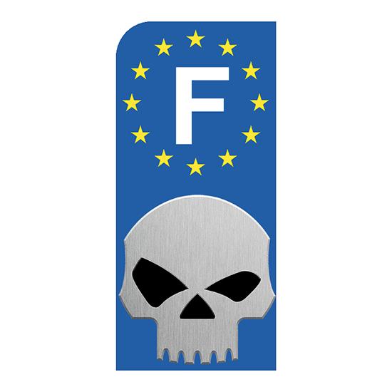 SKULL-EUROBAND-sticker-plaque-immatriculation-moto-DROIT