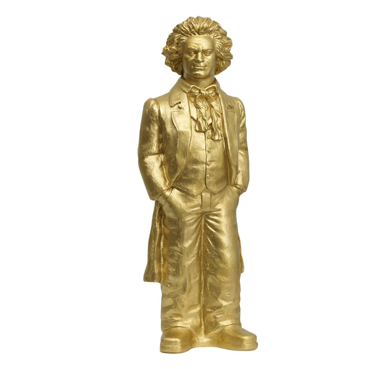 Sculpture, Ludwig van Beethoven souriant, de Ottmar Horl