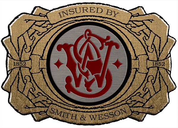 Sticker Insured by Smith and Wesson