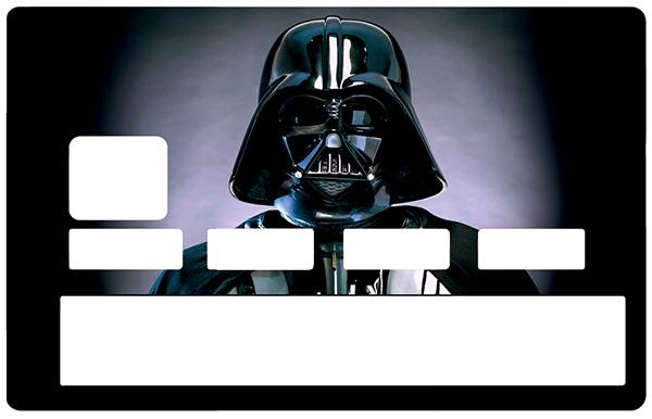 Sticker pour carte bancaire, DARK VADOR 2020, édition limitée 100 ex.