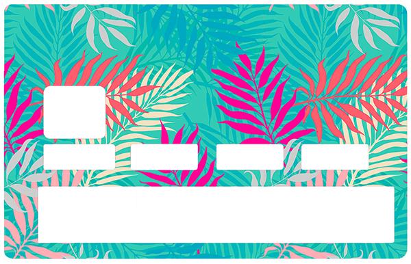 Sticker pour carte bancaire, Forêt imaginaire