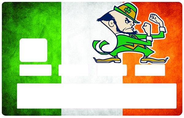 Sticker pour carte bancaire, Irlande