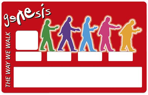 Sticker pour carte bancaire, GENESIS