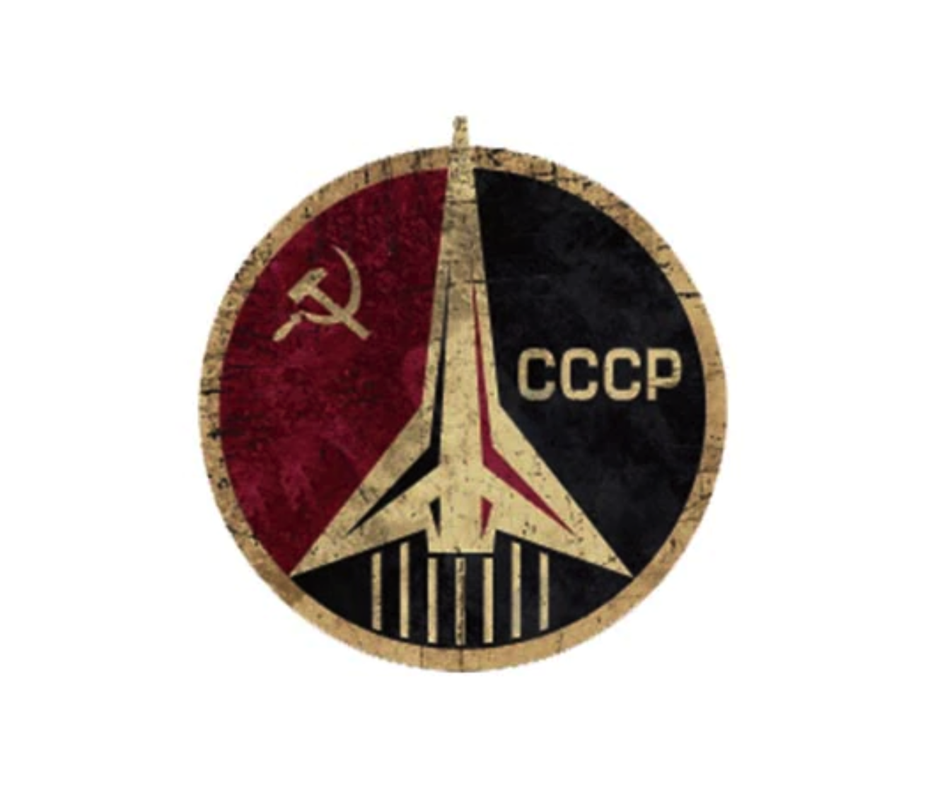 Motif thermocollant, CCCP agence spatiale
