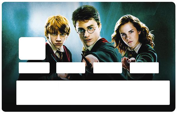 Sticker pour carte bancaire, Harry Potter