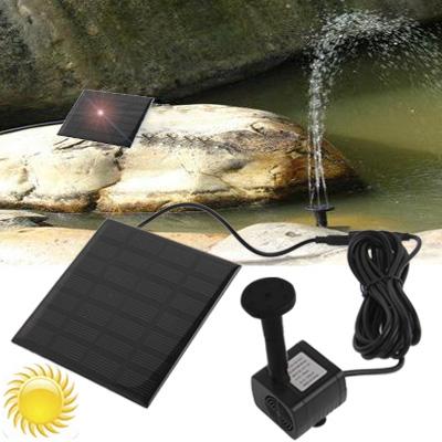 Pompe à eau solaire, autonome, pour bassin