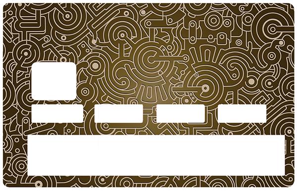 Sticker pour carte bancaire, Mécanisme