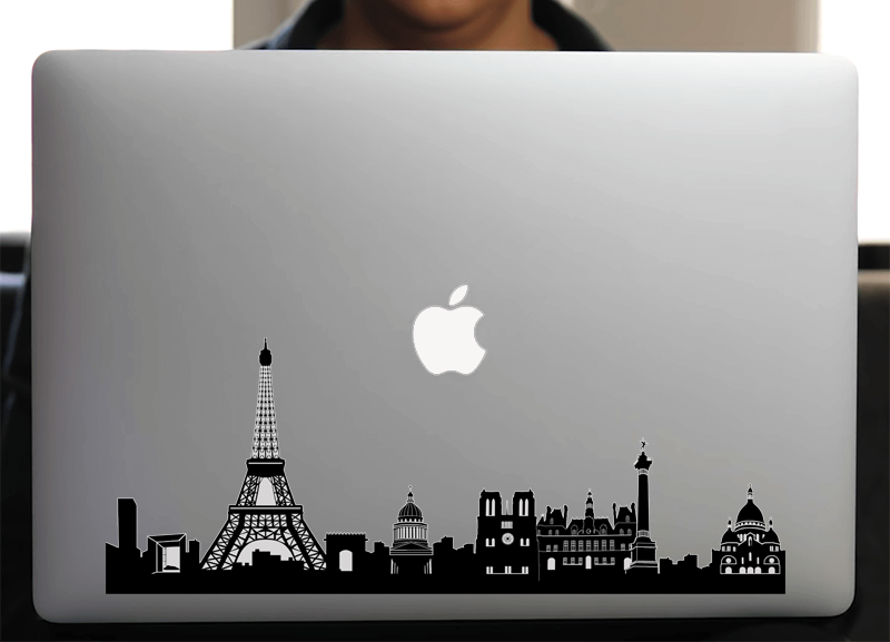 Sticker pour Macbook ou PC, PARIS