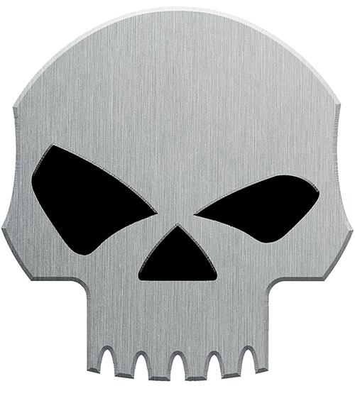 Sticker SKULL, H. 9 cm