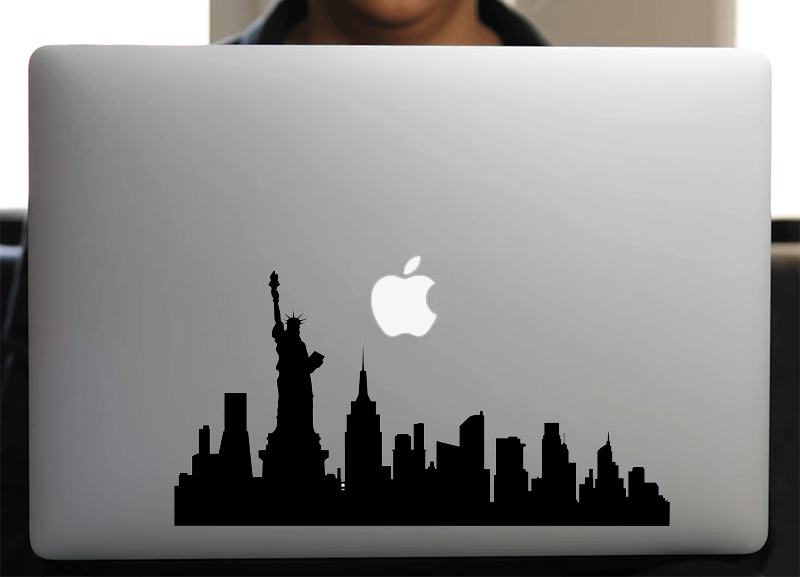 Sticker pour Macbook ou PC, NEW YORK