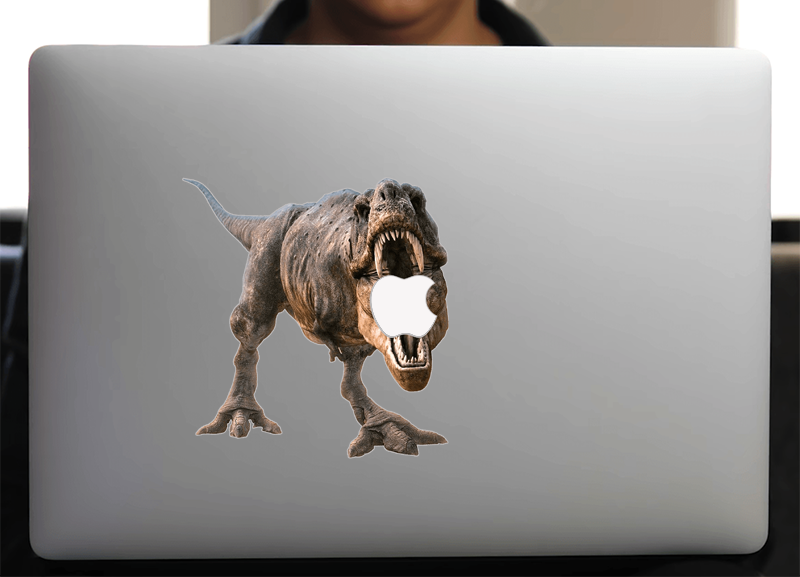 Sticker pour Macbook ou PC, TYREX
