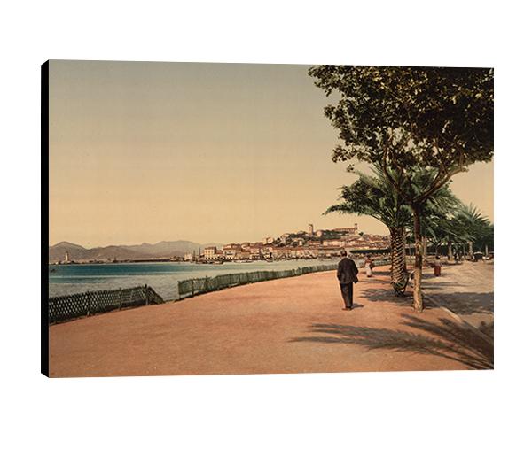 Cannes, la croisette, 1870