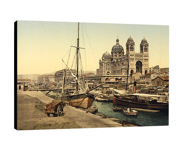 Photo sur toile -  Marseille, 1880
