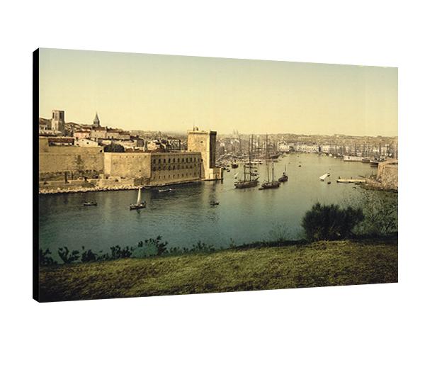 Marseille, le Port en 1880
