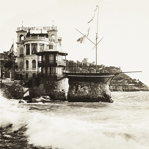 Photo sur toile -  Nice, la réserve vers 1900