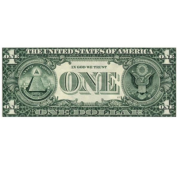 Photo sur toile -  One Dollar
