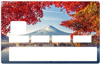 Sticker pour carte bancaire, Mont Fujiyama