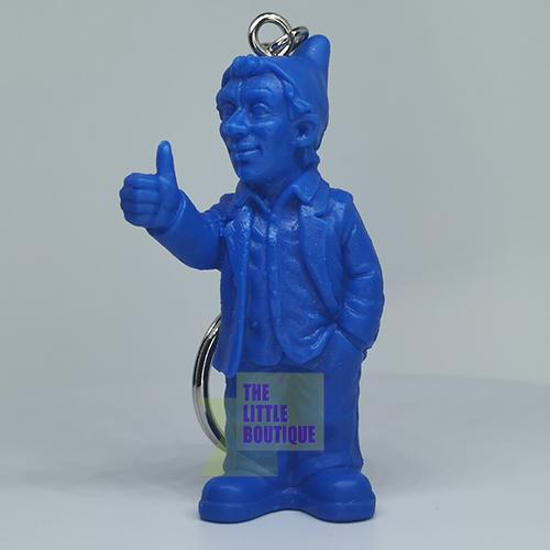 Porte clef, OPTIMISTE, bleu