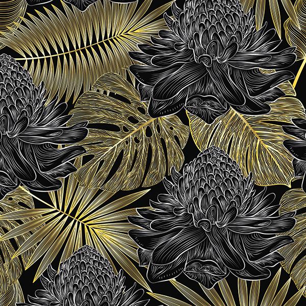 feuilles-or-PHOTO_SUR_TOILE_THELITTLEBOUTIQUE