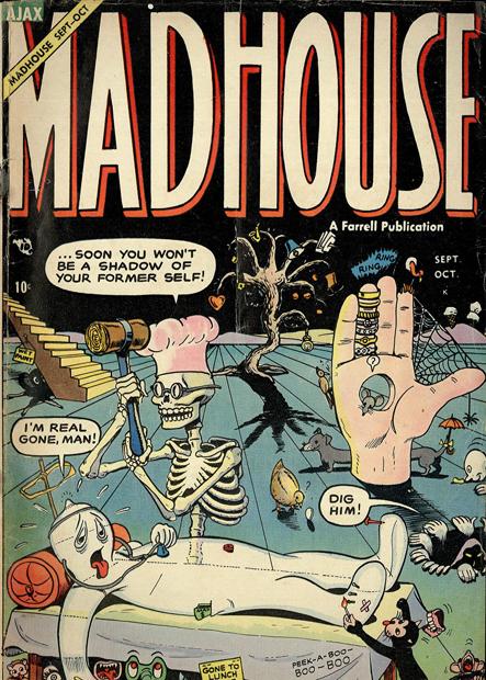 Mad House, Dim:  50 cm x 70 cm