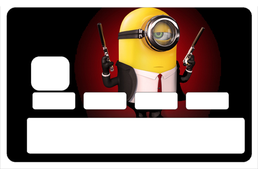 Sticker pour carte bancaire, Tribute to Minion Killer