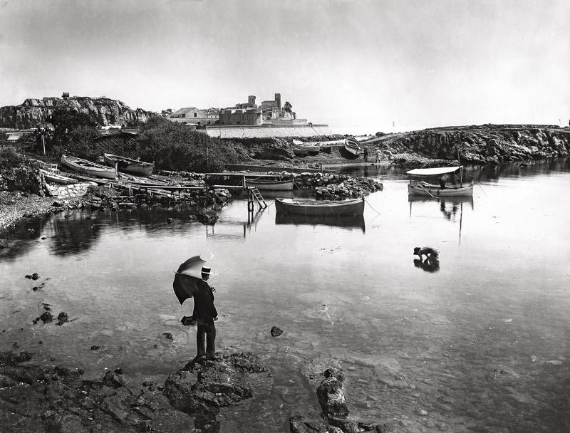 Antibes vu du Cap vers 1890