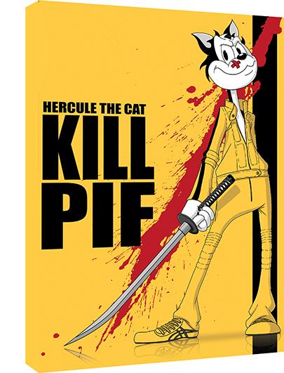 Kill Pif de Damien Garavagno,  Dim: 50 cm x 70 cm