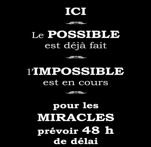 l\'impossible, Dim:  30 cm x 30 cm