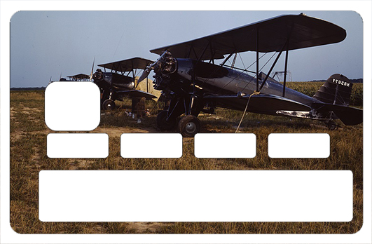 Sticker pour carte bancaire, Biplan US 1916